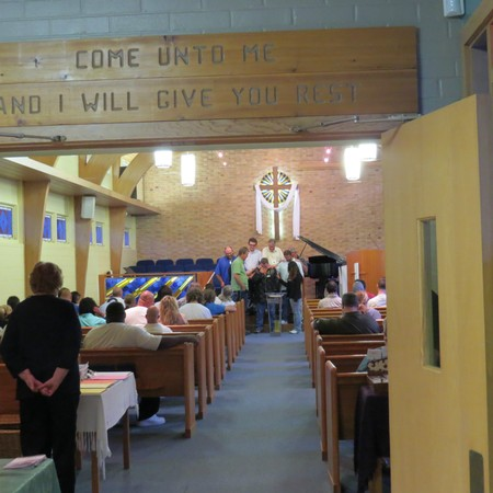 Laying of the Hands at Underwood Hills